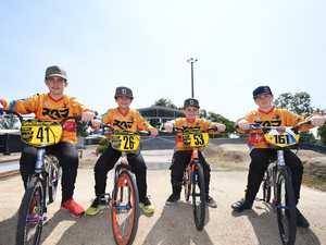 CQ boys' fundraising bid to ride into BMX titles