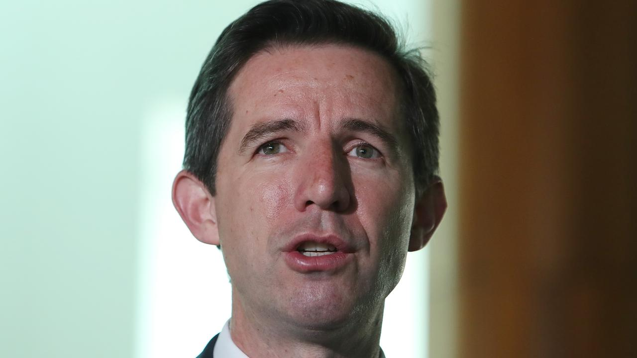 Tourism Minister Simon Birmingham. Picture: Kym Smith
