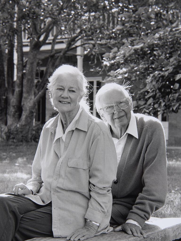 Arthur and Yvonne from the Bundanon archive. Photo: Bundanoon Trust Archive