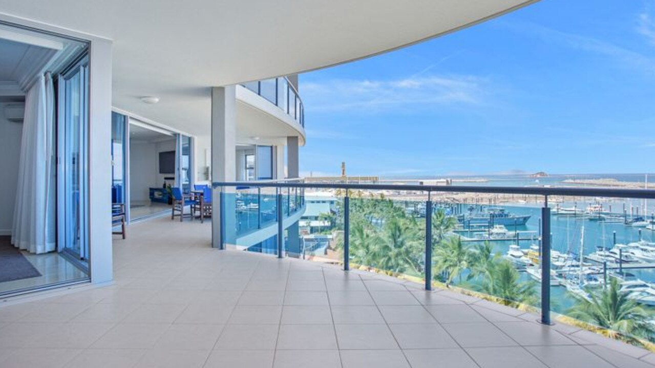 Size, quality and views of the marina are on offer at 13/32 Mulherin Drive, Mackay Harbour.