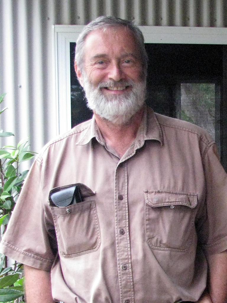 CQUniversity Koala expert Dr Alistair Melzer.
