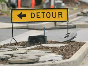 Ring road construction sends drivers on detour
