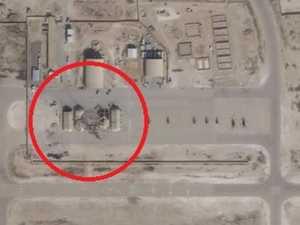 Satellites reveal Iran's 'deliberate' act