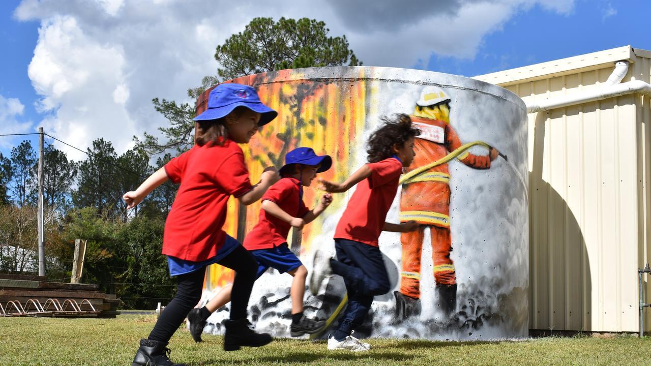 Rappville Public School is reopening its doors for 2020 after bushfires destoryed the village.