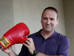 Rare boxing glove found 700km away from home
