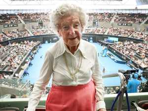 Tennis fan's 106-year wait to watch her first live match