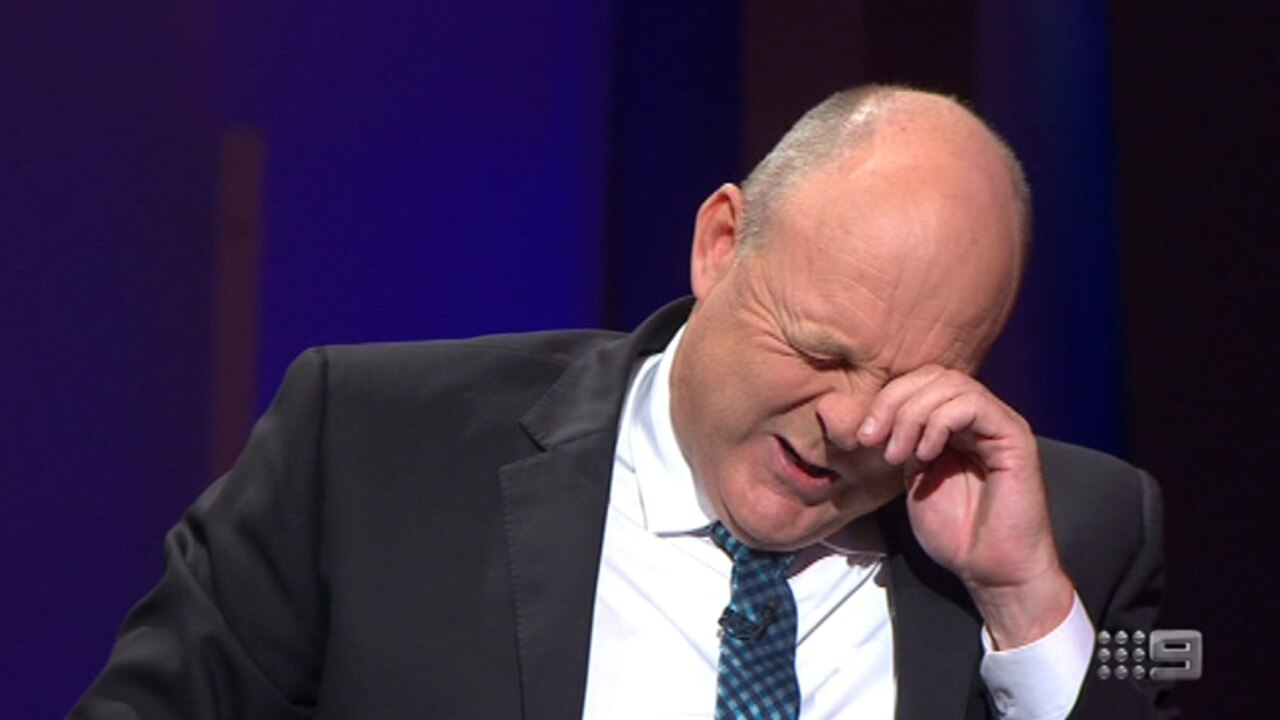 Billy Brownless's emotional return to The Footy Show in 2016.