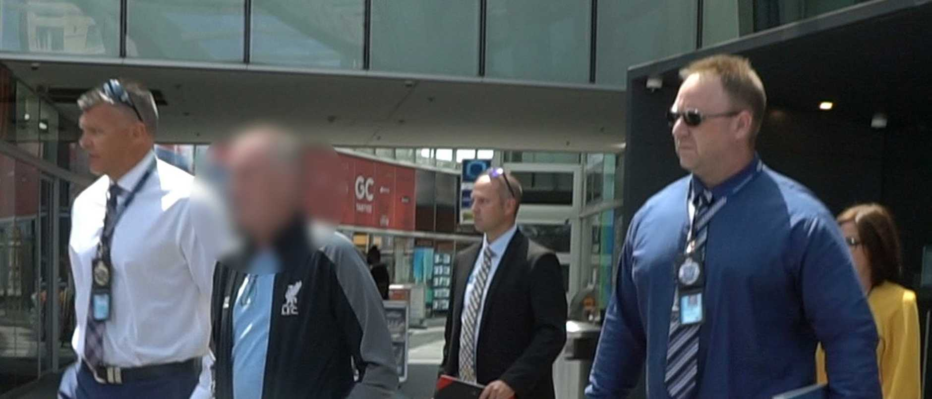 Warren John McCorriston is accused of sexually assaulting three girls. he has been extradited to New South Wales to face charges.