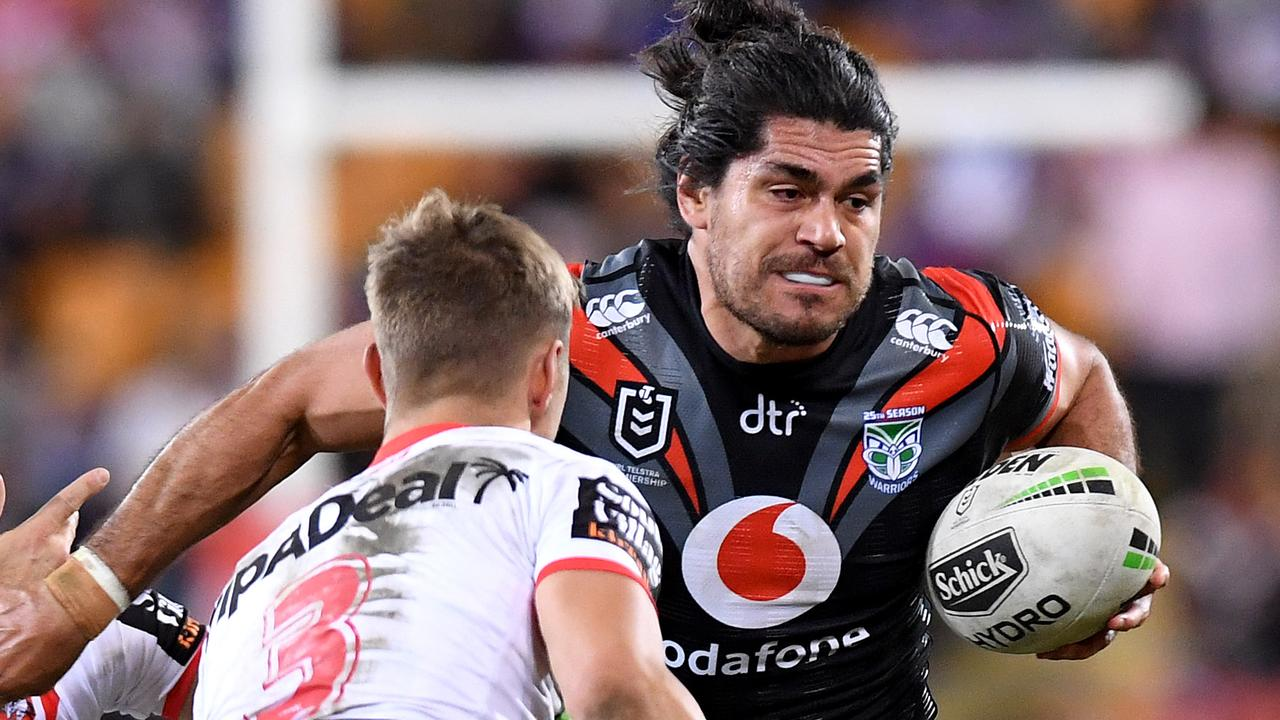 The Warriors need Tohu Harris fit to suceed in 2020. (Photo by Bradley Kanaris/Getty Images)