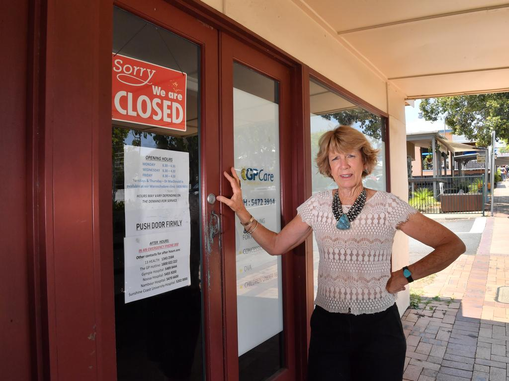 Kenilworth resident and Chamber of Commerce secretary Sue McMah is worried that one part-time doctor in town is not enough. Photo: John McCutcheon