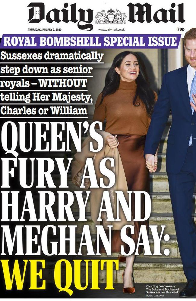How British tabloid The Daily Mail reported the news.
