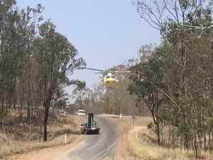 Marumbar Road Crash Recovery Flight