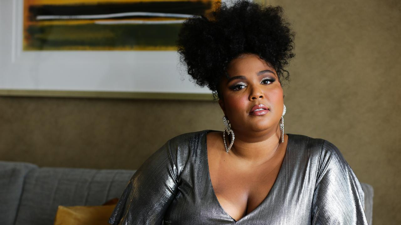 Lizzo has struck a resounding chord with Australians on her first tour. Picture: Gaye Gerard