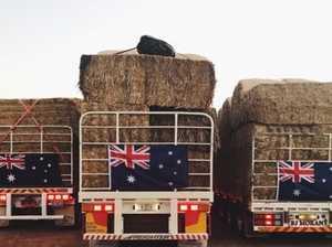 NTI throws support behind truckies amazing hay run