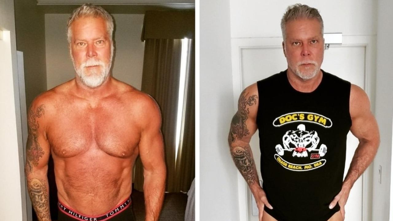 Kevin Nash is looking a whole lot healthier.