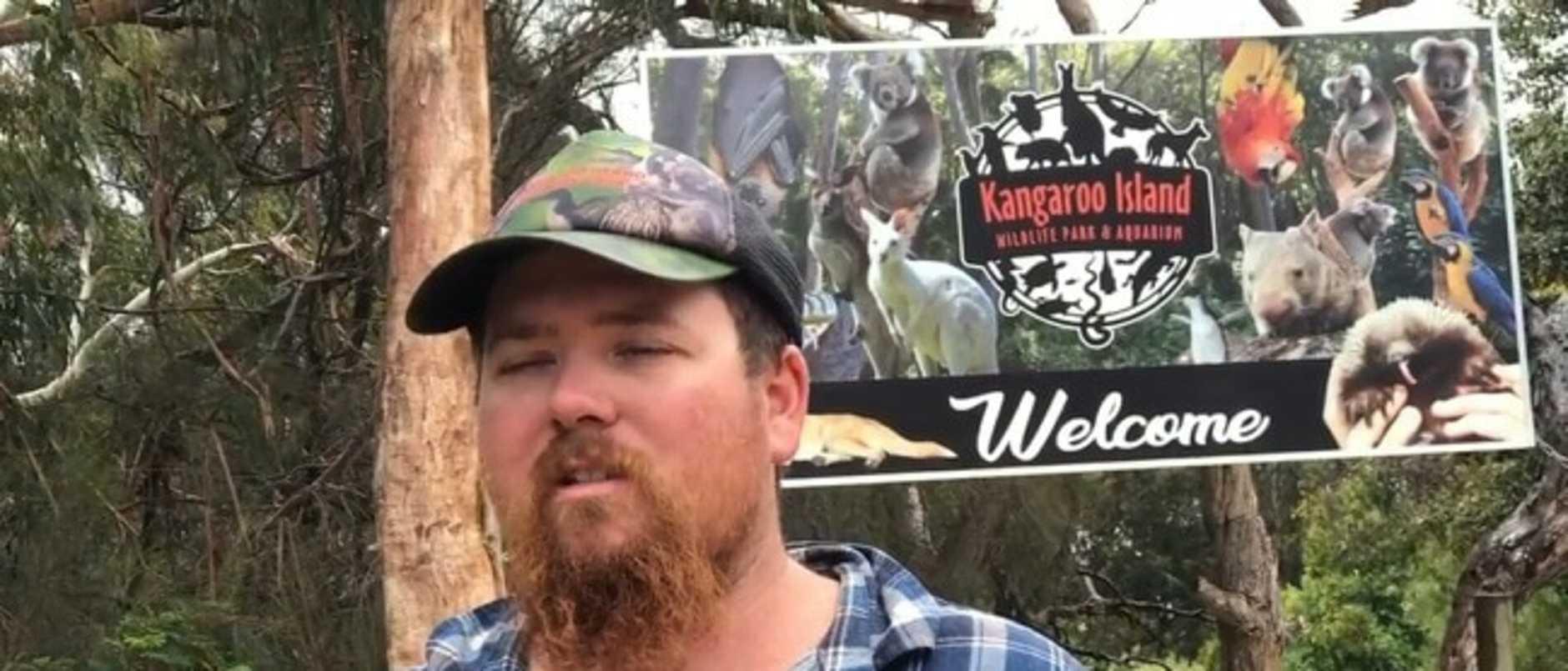 Sam Mitchell, the owner of the Kangaroo Island Wildlife Park