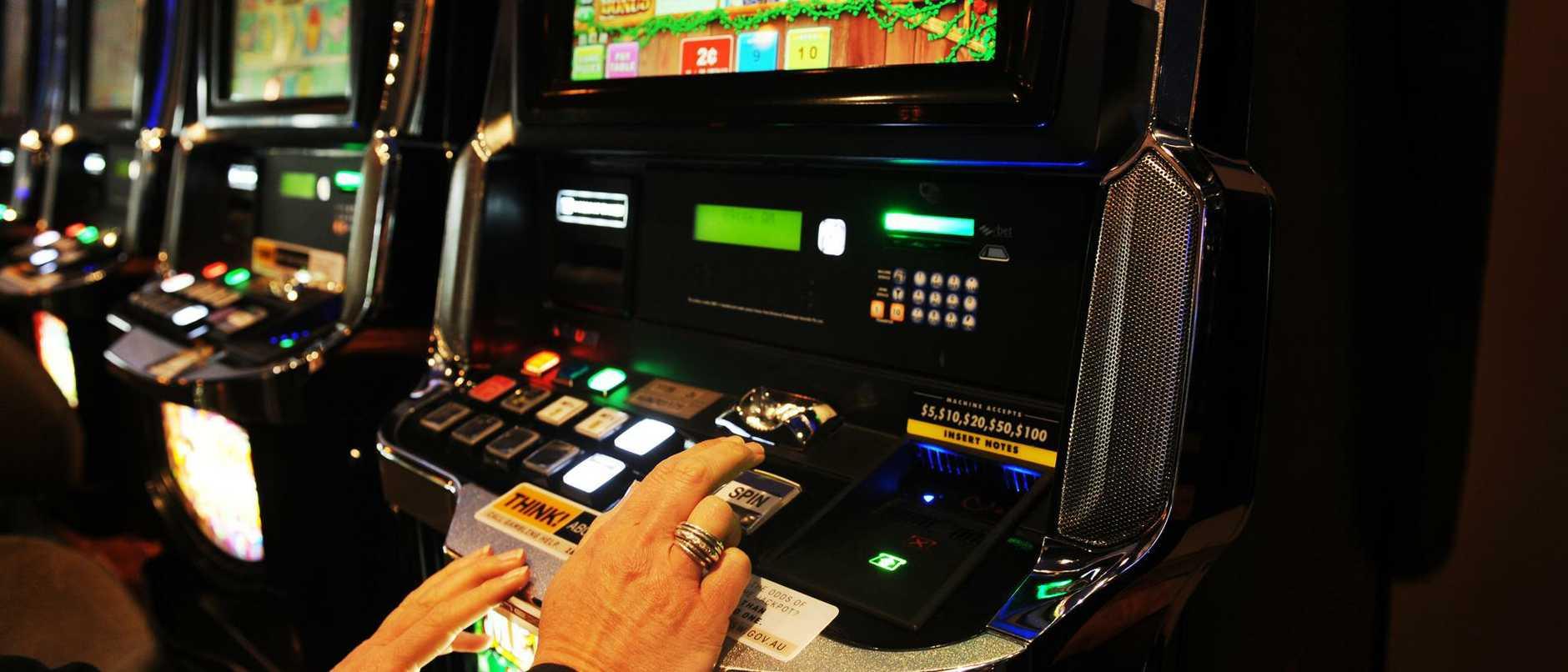 Dee Why RSL gaming area. generic/ pokie machines/ gambling/ casino/ northern Beaches