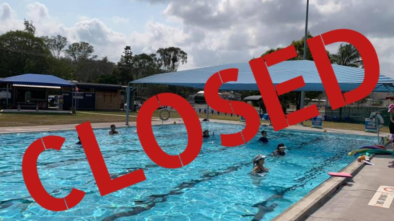 SHUT UP SHOP: The Goomeri Pool will be closed until further notice due to an unforeseen