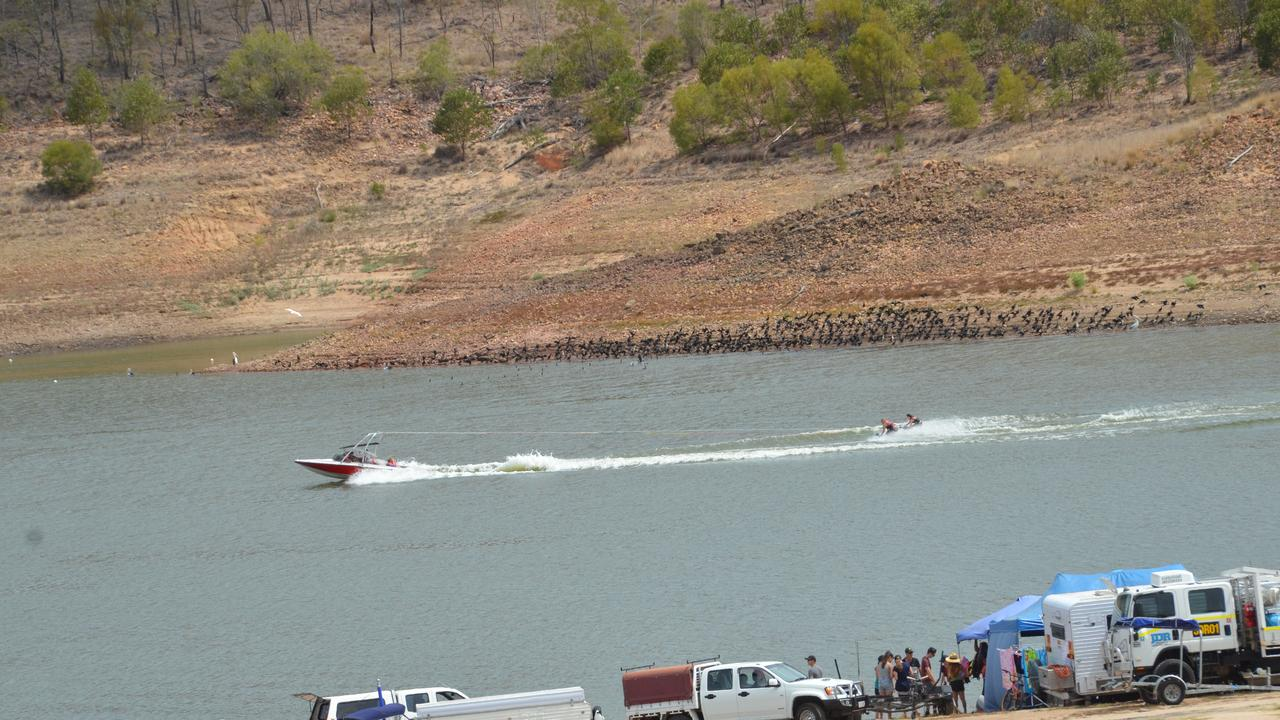 Water skiing is one of the most popular pastimes at Lake Boondooma.