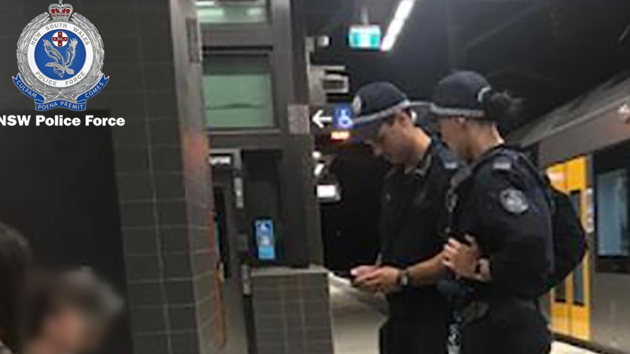 Fifty people, including a man wanted on multiple fraud and theft offences, were arrested during a one night operation targeting the rail corridor and public transport network in NSW. Picutre: NSW Police