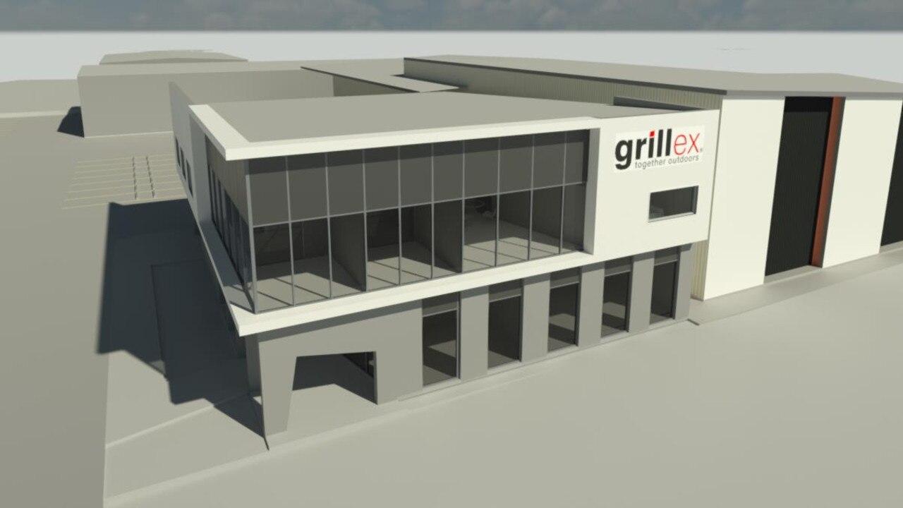 FIRST LOOK: Grillex facility artist impression.