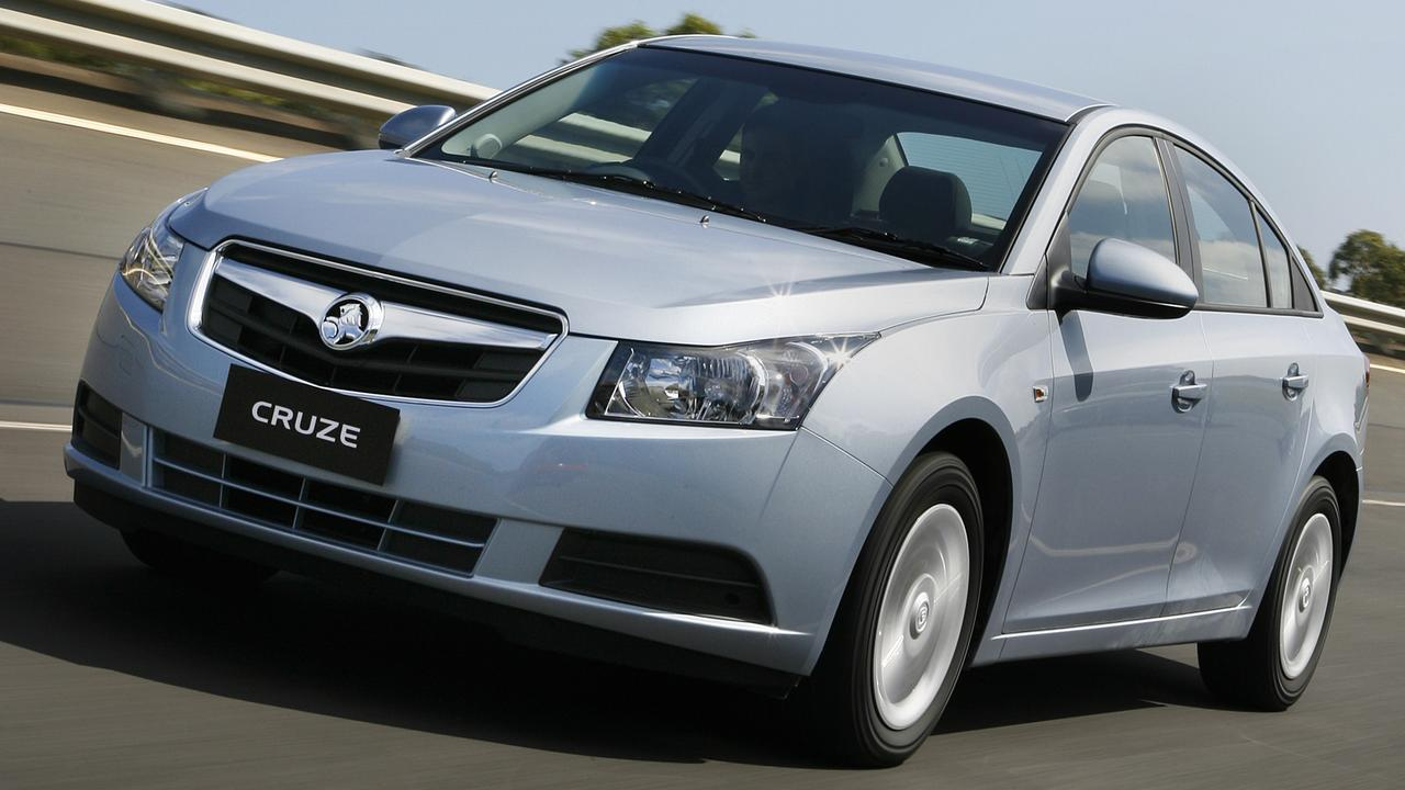 There is a lot of used Holden Cruzes on the market.