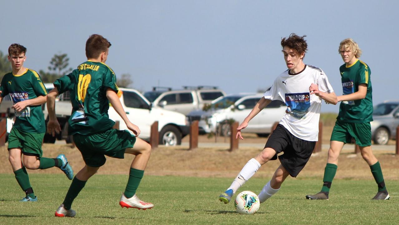 Rockhampton's Brock Duffy will be heading to Germany to play football for the U19 Holzwickeder squad.
