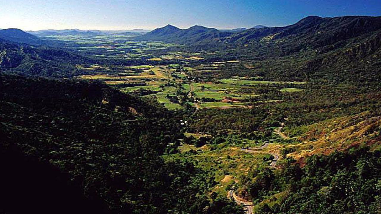 Eungella National Park overlooks the spectacular Pioneer Valley.