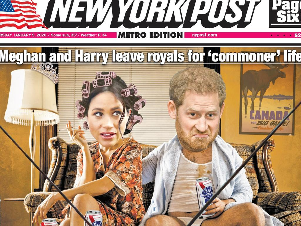 The front page of New York's newspaper.