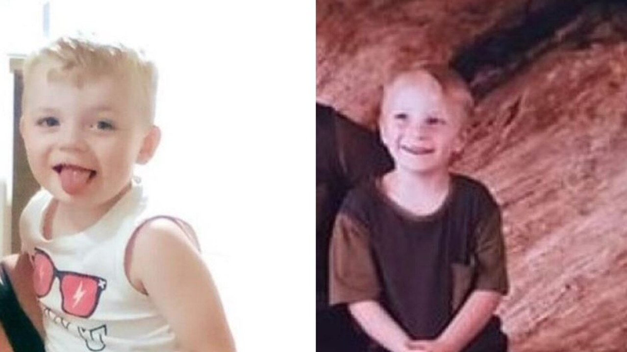 The boys, aged 3 and 4, were last seen leaving an address on Bellara Drive around 2pm with a man known to them.