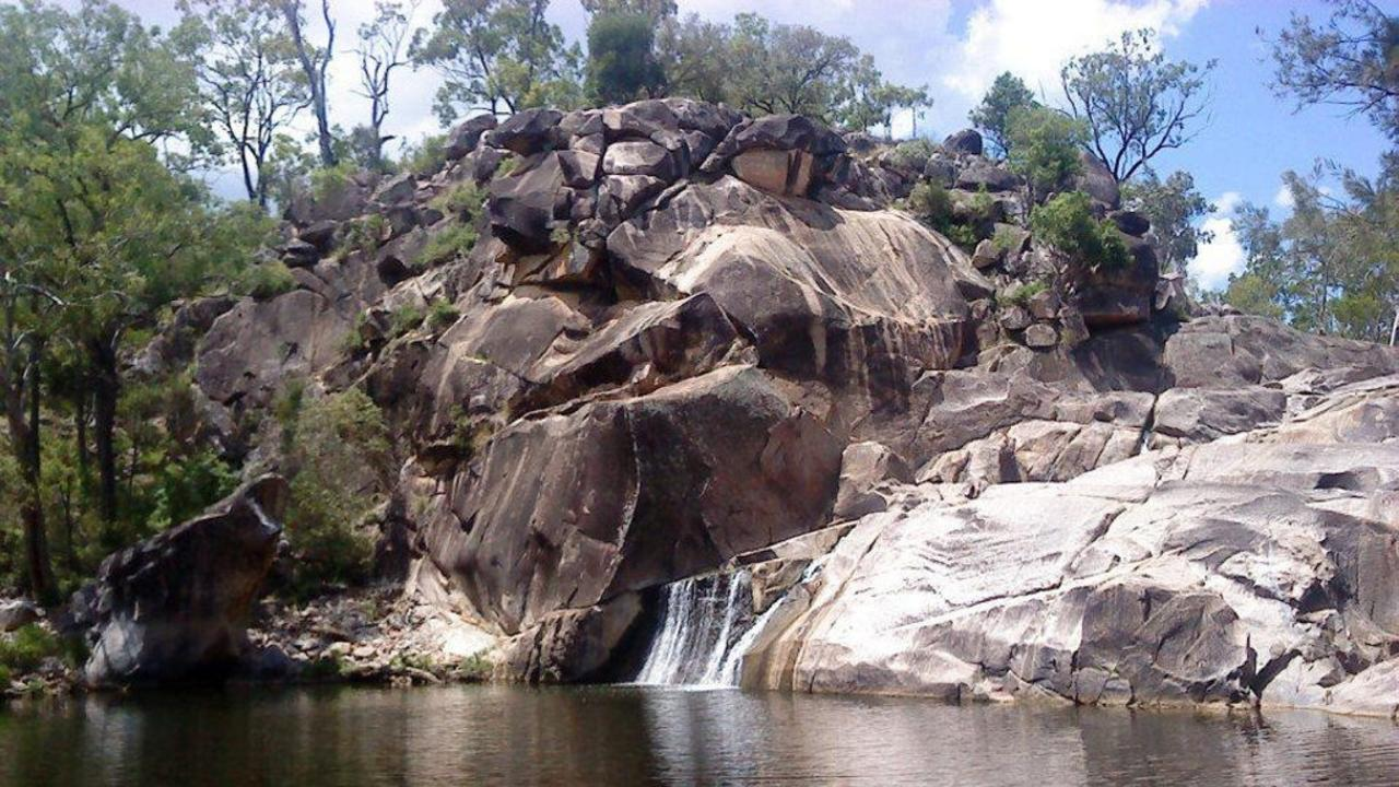 Coomba Falls, Maidenwell. Photo by Petra Harris.Photo Contributed