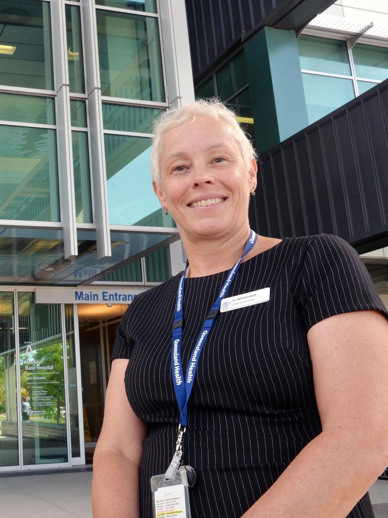 Mackay Hospital and Health Services chief executive Jo Whitehead
