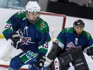 The North Coast teen who has became an ice hockey star