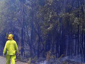 UPDATE: Burnt bushland 'smouldering' at Peregian