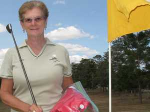 Macklin's 'stella' performance on par in Gympie golf comp