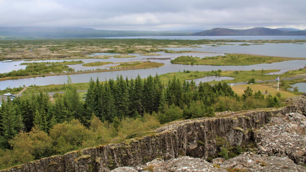 Thingvellir National Park. Picture: Shirley Sinclair
