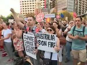 'ScoMo's got to go': Protests hit CBD