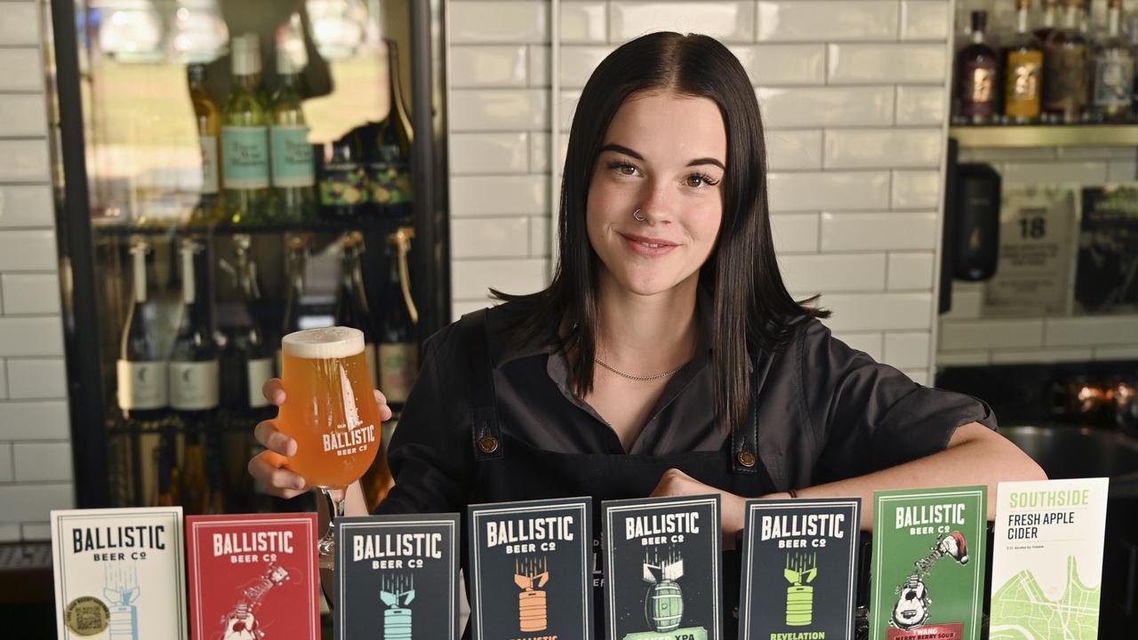Carolyn Marcinkus of Ballistic Beer Springfield. Picture: Cordell Richardson