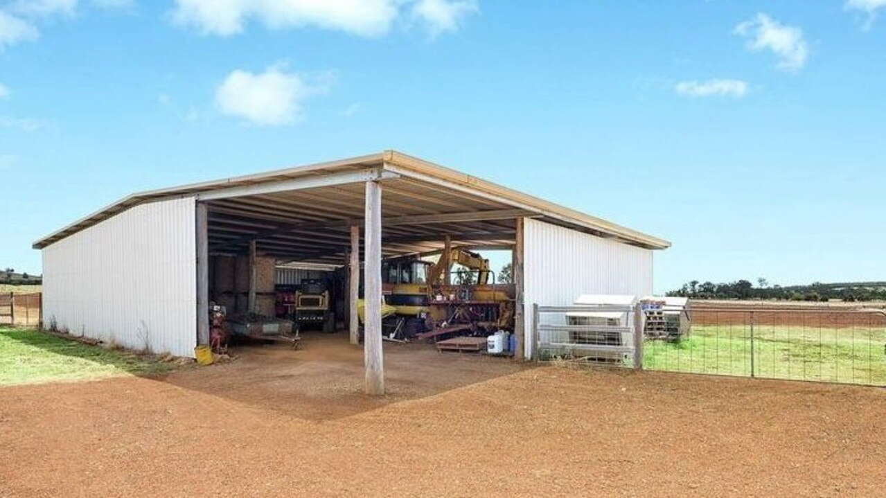 Kimberly Park is for sale and features a large shed.