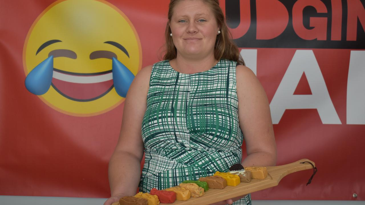 HELPING OUT: Nardia Hill of Fudging Mad is hosting a bushfire fundraiser tomorrow at the Gympie Central Shopping Centre. Photo: Troy Jegers