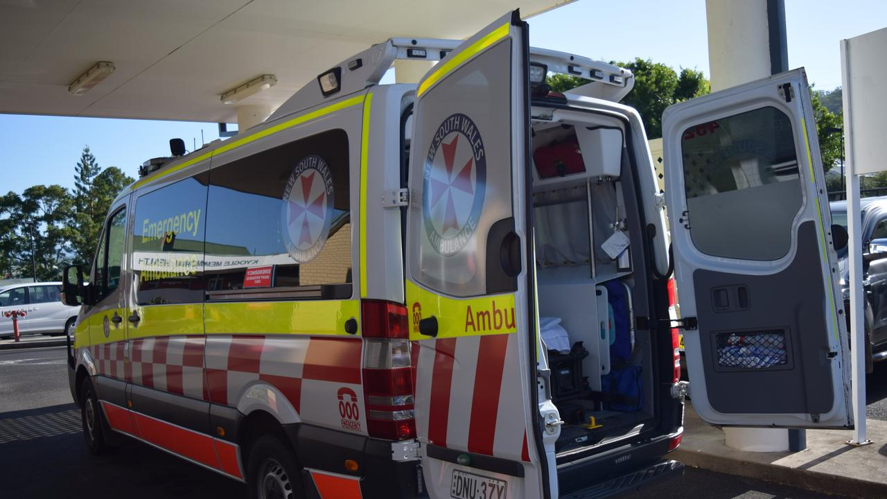 FILE PHOTO: NSW Ambulance is on scene of an accident in Goonellabah.