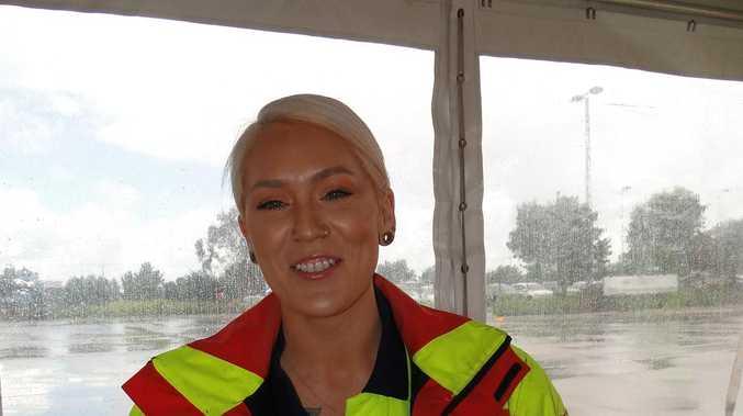 Meet the make-up artist turned truckie