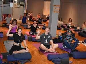 Mackay yogis flex generosity for bushfire appeal