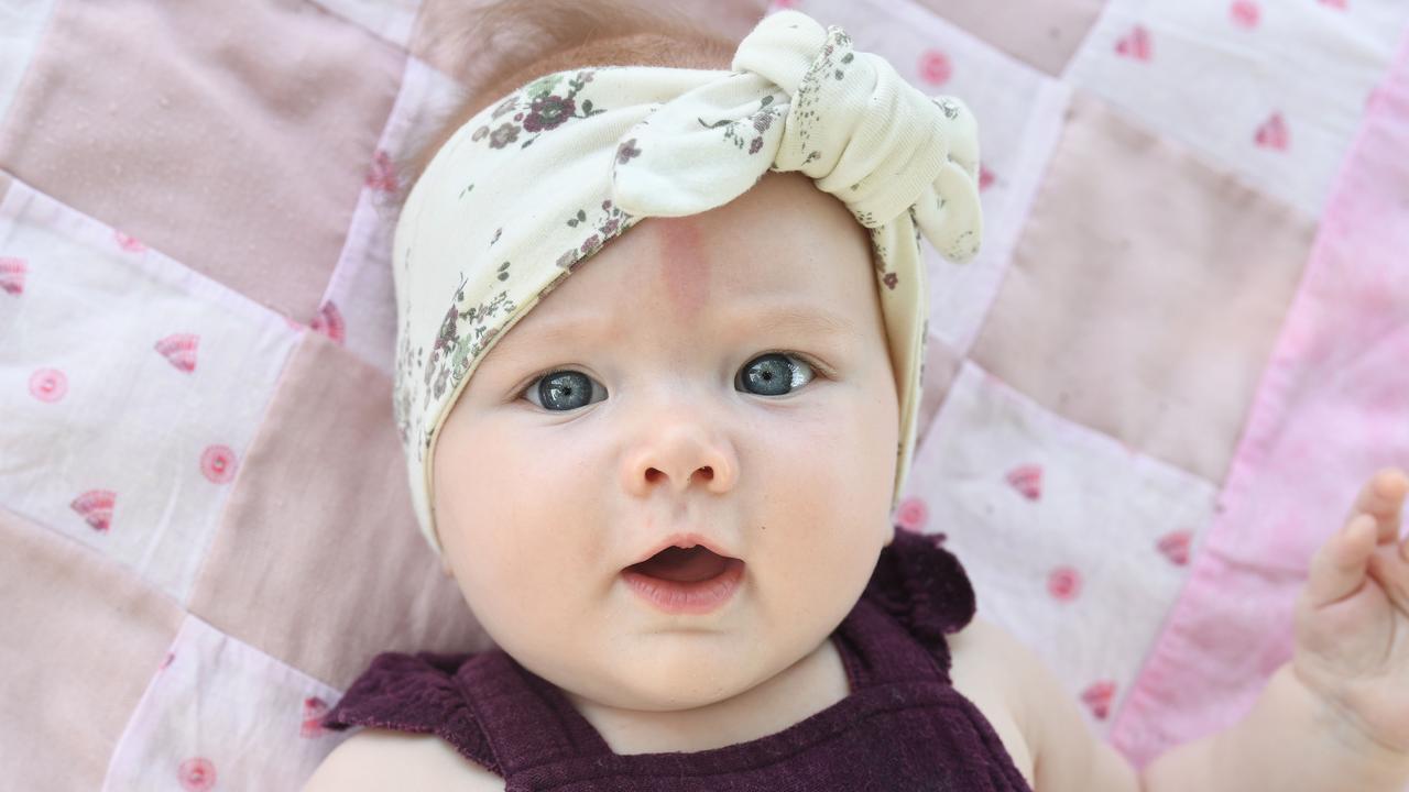 Olivia Kaddatz (6 months). Picture: Tony Martin