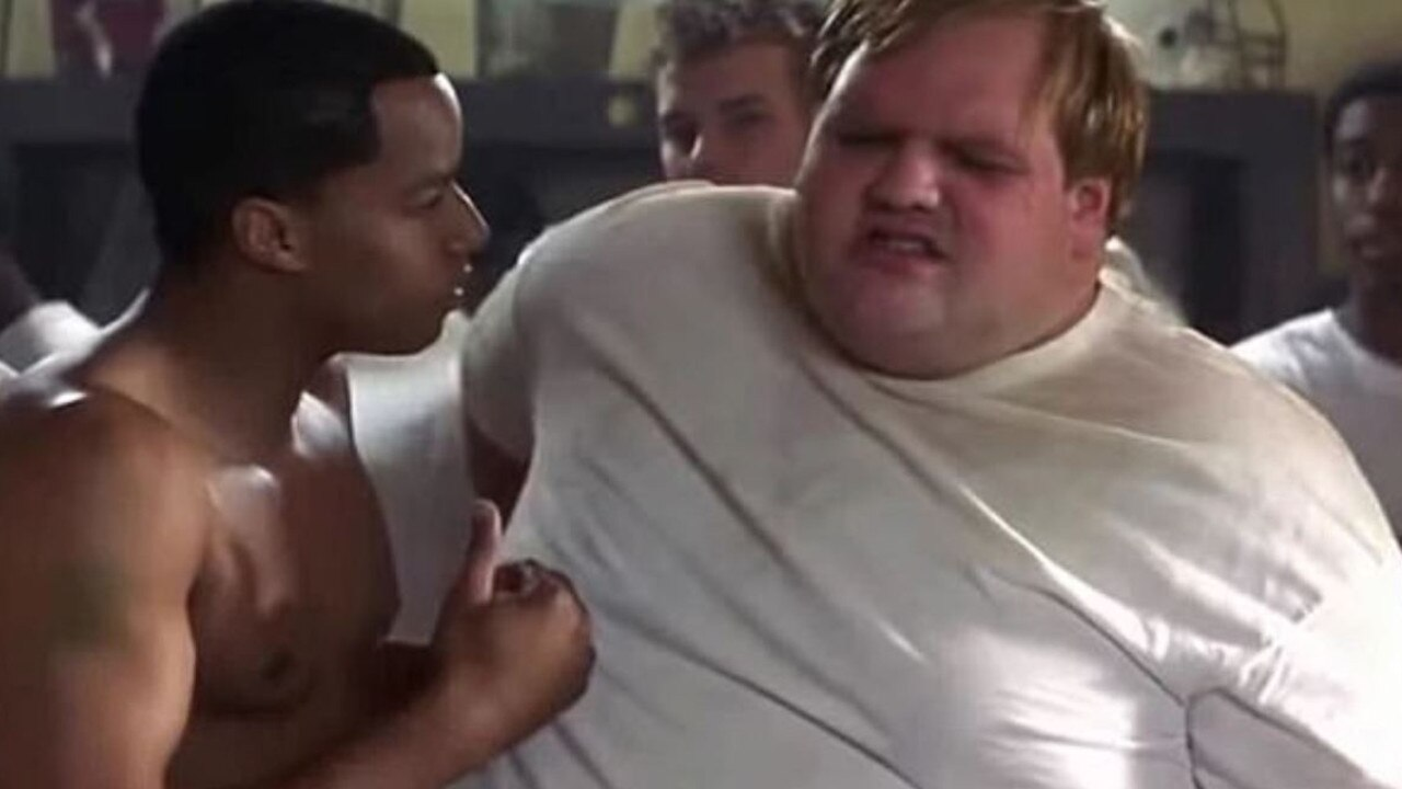 Ethan Suplee from Remember the Titans has transformed his body. Picture: Supplied