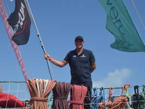 QLD businessman finds his sea legs aboard Clipper race