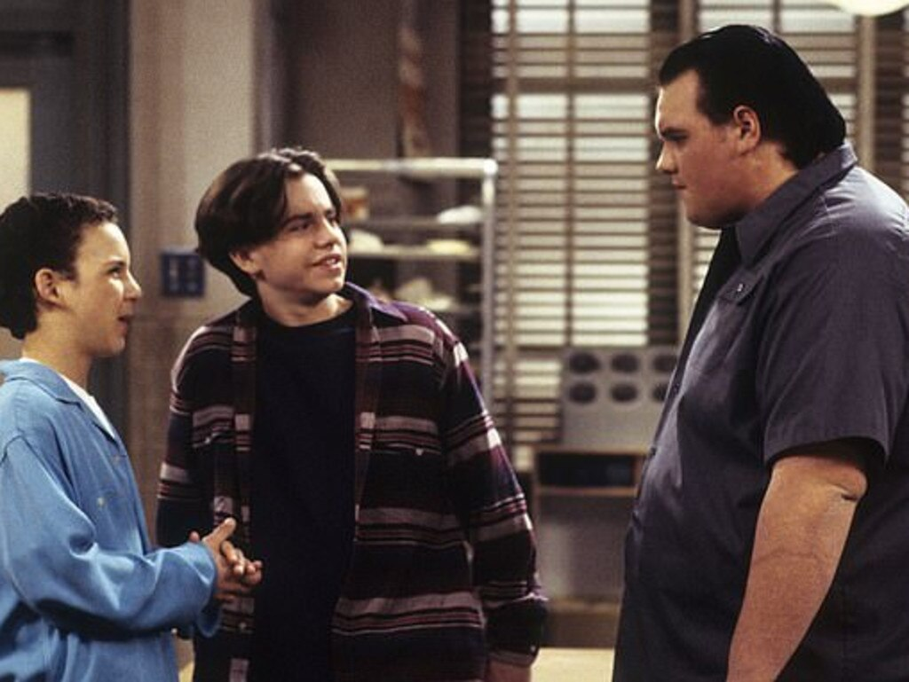 Ethan Suplee got his start in Boy Meets World. Picture: Supplied
