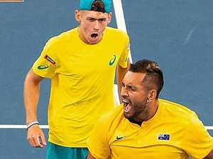 Kyrgios' 'hearthbreak' for Demon's Open hell