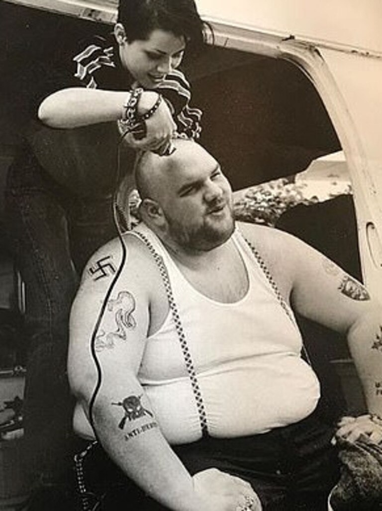 Ethan Suplee from American History X. Picture: Instagram
