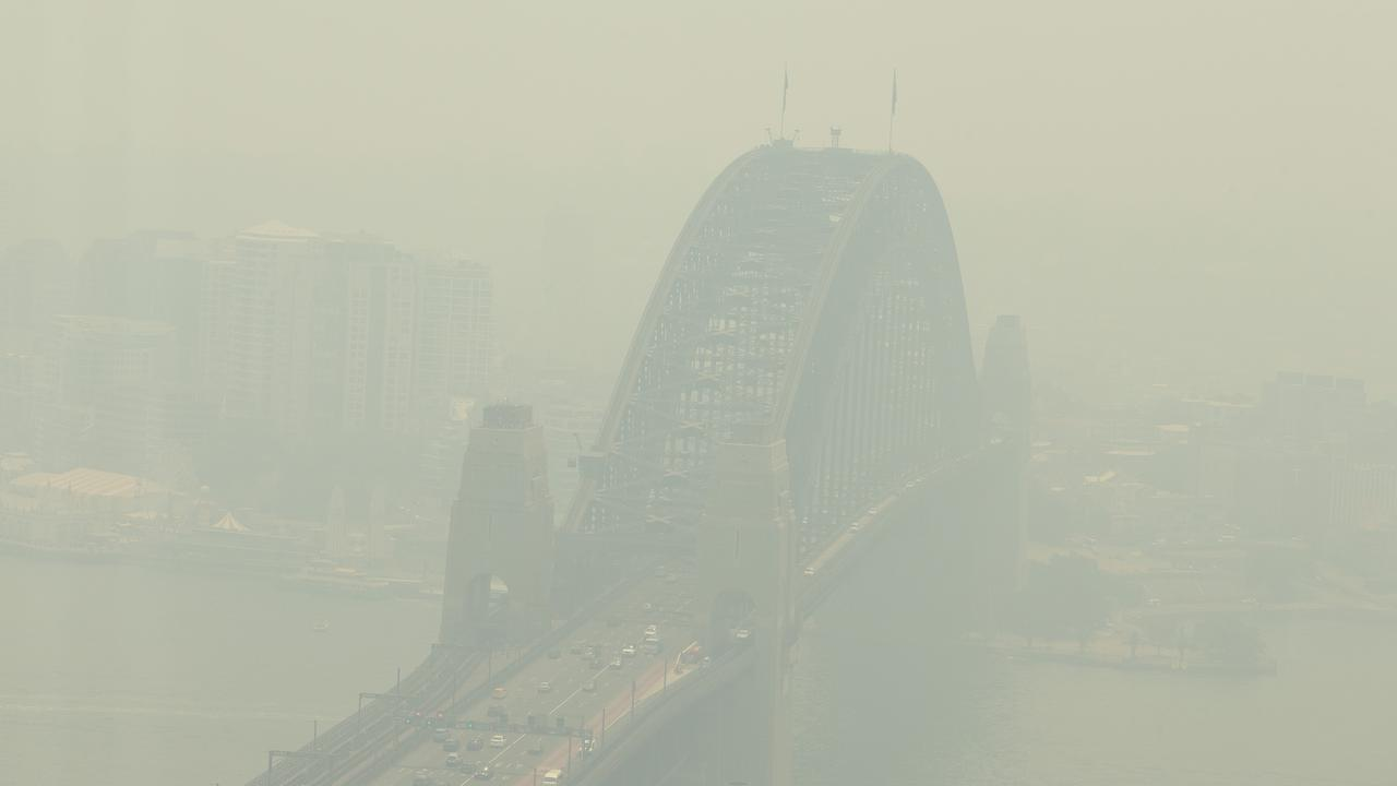 Sydney has been choked by bushfire smoke for months.